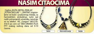 ŠKOLJKA, TANTRA, RUŽA, ogrlice rucni rad,  narucuje se na telefon 065-216 416 0