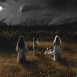 ritual na obali reke